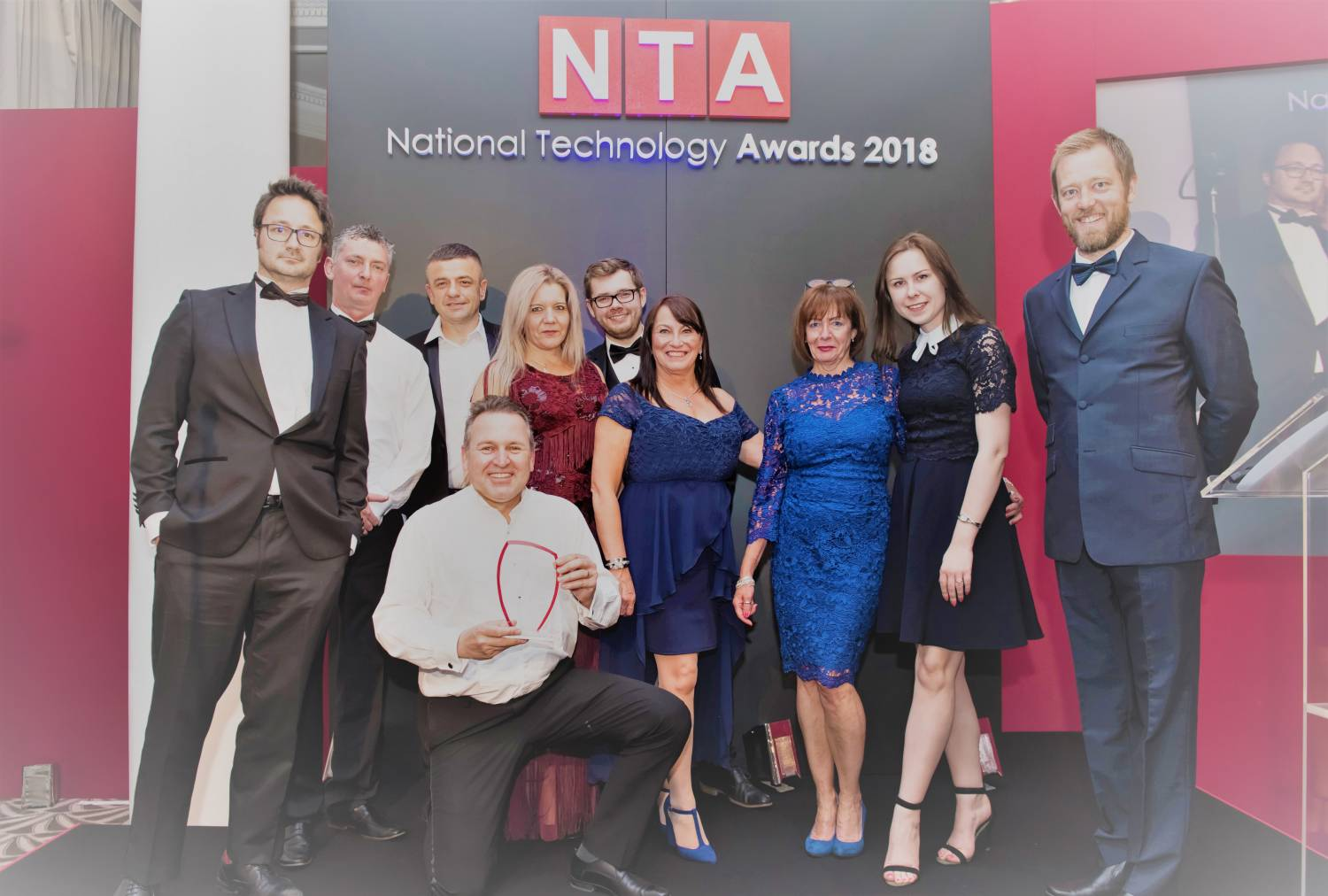 Lucas Wins At National Technology Awards 2018