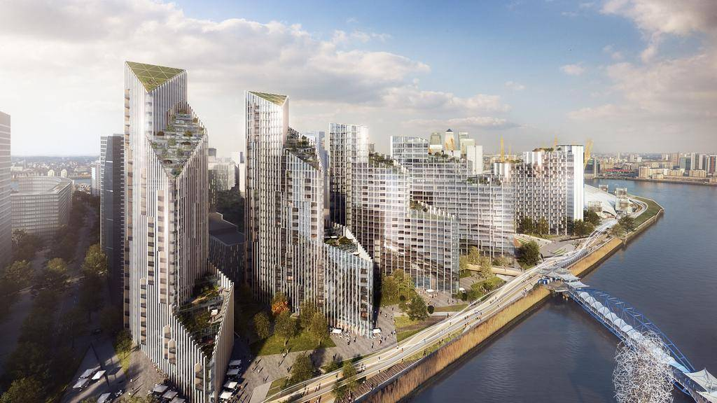 Lucas Secures Key Role on the Regeneration of Greenwich Peninsula