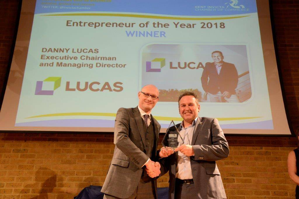 Kent Invicta Chamber of Commerce Business Awards Winner